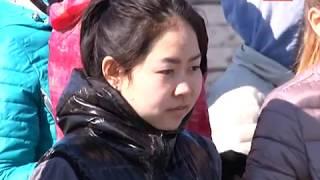Аскизские ученики сдают нормы ГТО 23.04.2018