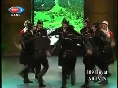 Artvin Halk Oyunları (Davul-Zurna)-TRT