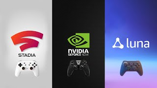 Which Game Streaming Service Is Best?   Stadia vs. GeForce Now vs. Amazon Luna
