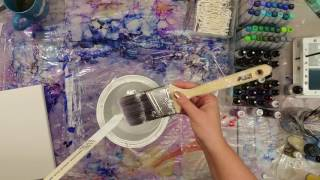How to prep your canvas for alcohol inks.