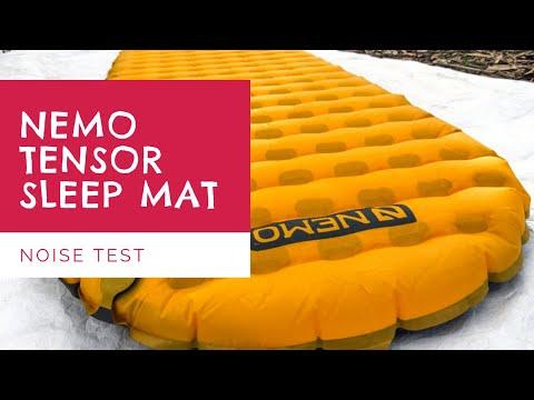 NEMO Tensor Insulated Mat Noise Test