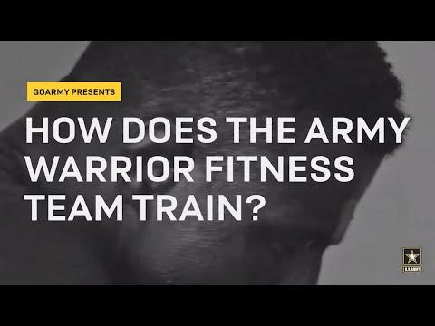Train Like The Army Warrior Fitness Team | GOARMY