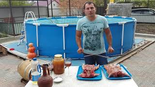 НУТРИЯ на мангале  ШАШЛЫК по кавказски