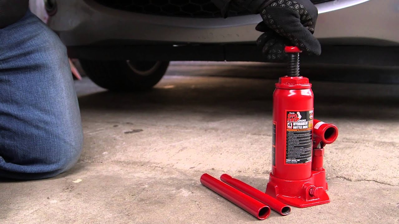 Torin Big Red 4 Ton Bottle Jack Pep Boys Youtube