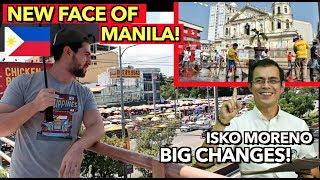 New MAYOR Saving MANILA??SOBRANG LINIS na ng MANILA! 🇵🇭 Malaking Pagbabago sa BUONG MANILA!!