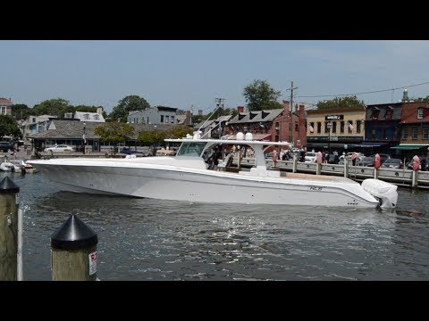 HCB Yachts 65' Estrella - The World's Largest Center Console Powerboat