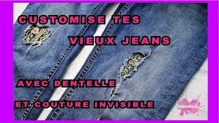 Bonjour à tous!!! Répara,customise et donne une nouvelle vie à tes vieux jeans avec une touche moderne et d'un façon que va te surprendre!!! Si vous aimez ce ...