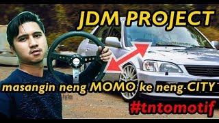 #tntomotif jdm project pasang setir racing di klitikan solo