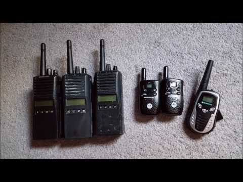 Uniden BCD436HP - VBS Week Church GMRS/FRS Radio Chatter