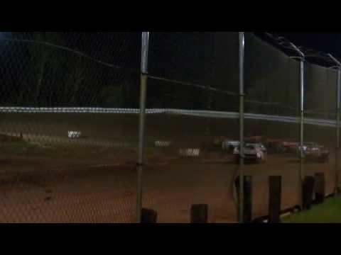 Jeff Klopstein TNT Speedway 05/25/2013 Feature Part1