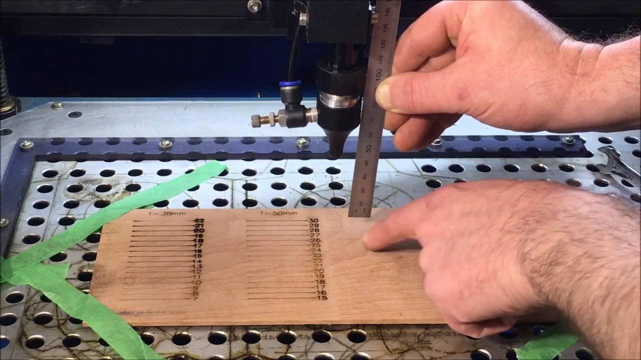 Laser Cutter Focus - Measuring Focal Point and Depth of Cut