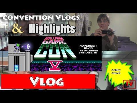 RetroGameCon 2017 Vlog