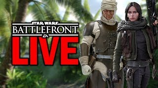 A BLAST FROM THE PAST! Star Wars Battlefront 2015 Live Stream