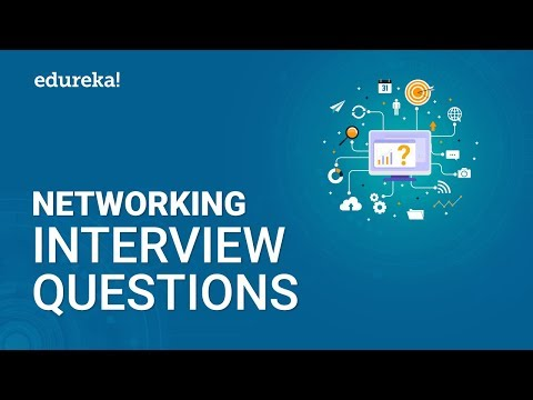Top 50 Networking Interview Questions and Answers | Networking Interview Preparation | Edureka