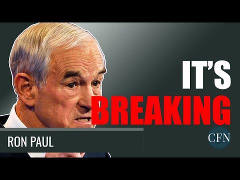 Ron Paul: It's Breaking. Get Ready.