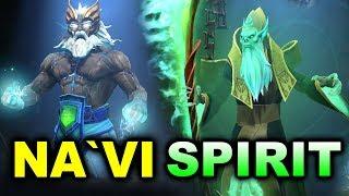 NAVI vs SPIRIT - CIS Qualifier GRAND FINAL -  StarLadder Minor DOTA 2
