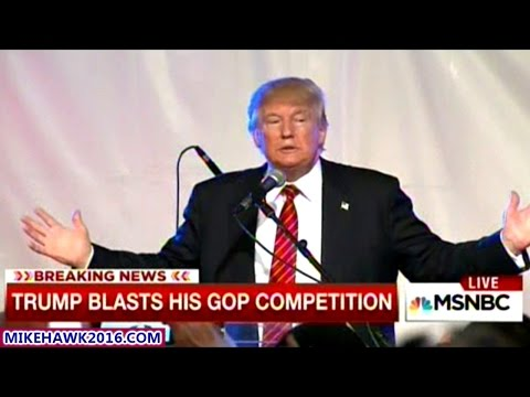 """I'm Not Gonna Say Jeb Is Low Energy But He's Pretty Low"" Donald Trump  At ""NOT-A-Fundraiser"""