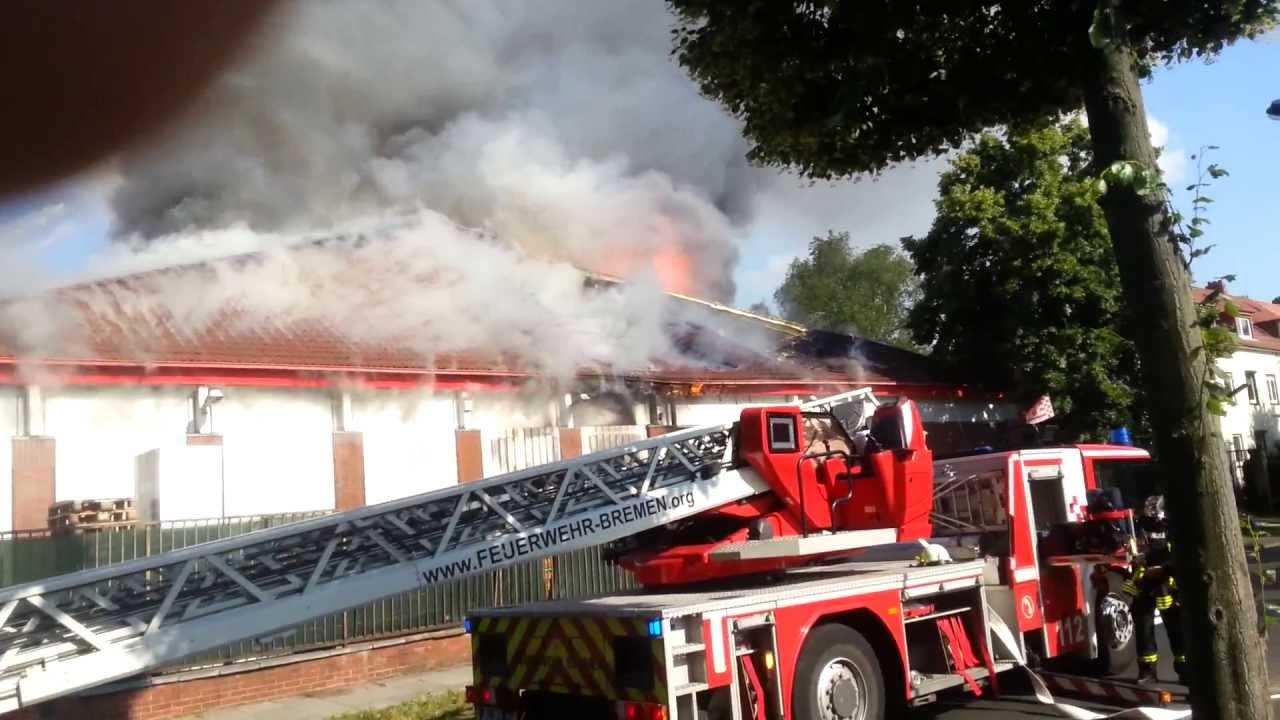 Feuer Bremen feuer im toom baumarkt holsteiner straße bremen