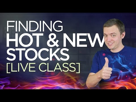 Ep 134: Finding New Hot Stocks & Q+A [Live Webinar]