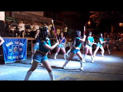 BSJ Majorettes - All About That Bass & Timber L.P Serenata 2015 Banda San Jose