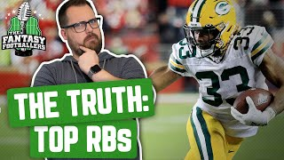 Fantasy Football 2020 - The TRUTH: Top Tier Fantasy RBs in 2019 - Ep. #852