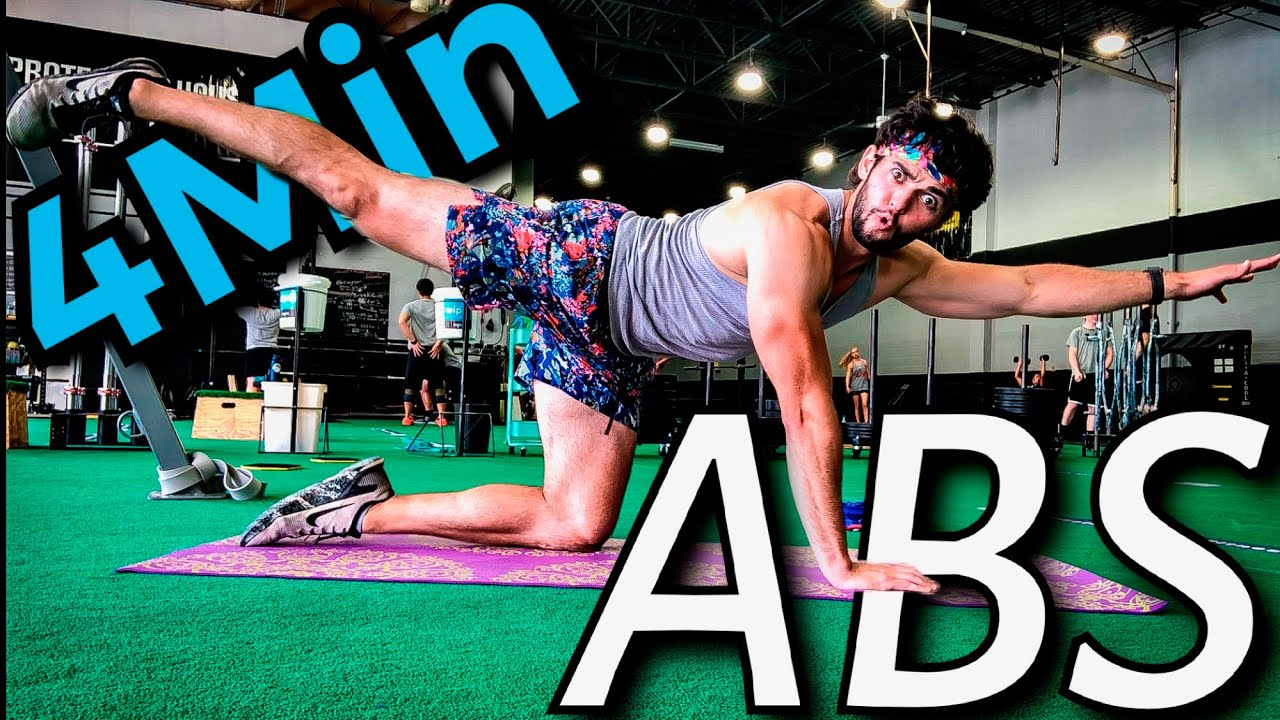 How to TONE YOUR STOMACH for Beginners // 4 MIN ABS WORKOUT - (Bodyweight Only)