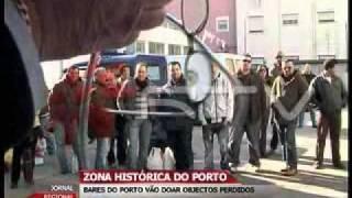 Bares do Porto vão doar objectos perdidos