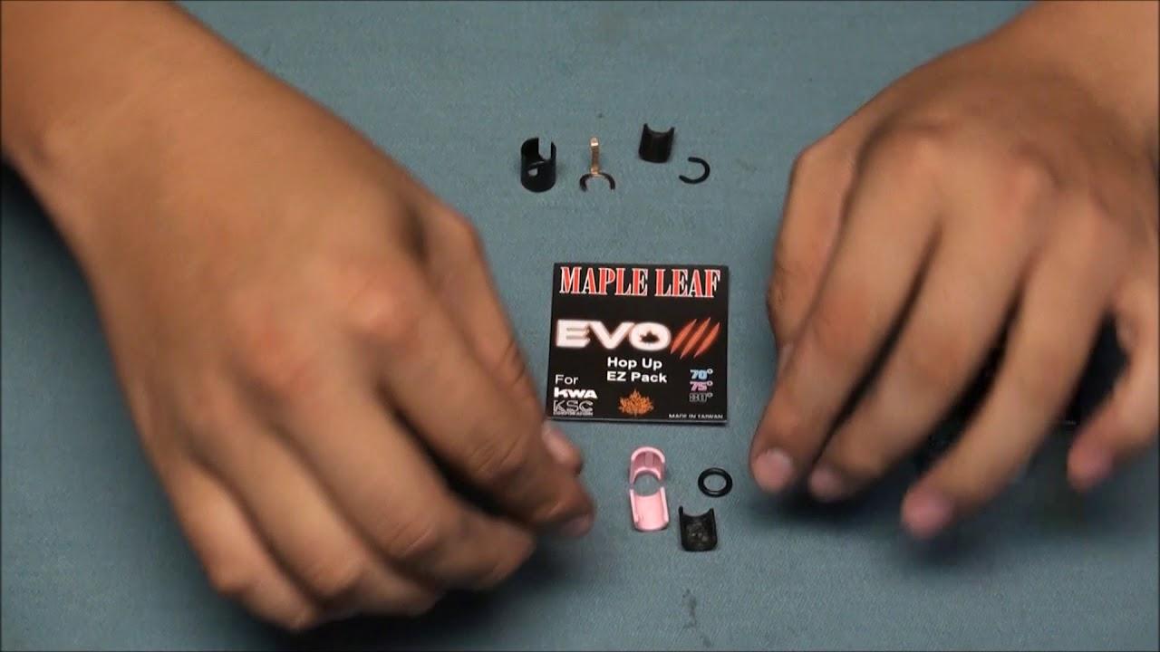 Maple Leaf EVO III Hop Up EZ Pack Debut
