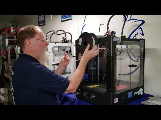 5 Loading Filament on GM3D505