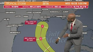 Download lagu Tropical Storm Zeta: Path, timing and intensity forecast