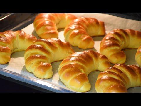 Как приготовить тесто для рогаликов с повидлом