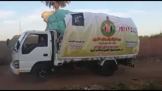 بيت الزكاة يطلق قافلة لتوزيع 100 ألف بطانية لأهالي الصعيد «فيديو وصور»