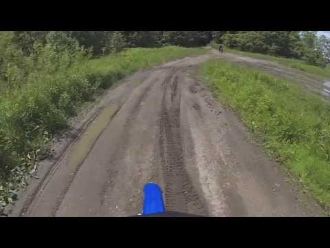 Erik's First Time Dirt Biking and Wipeout (Newtonville)