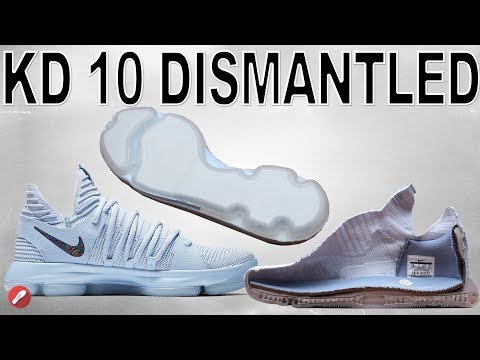 Nike Kd 10 DISMANTLED! DEFECT FIXED?!