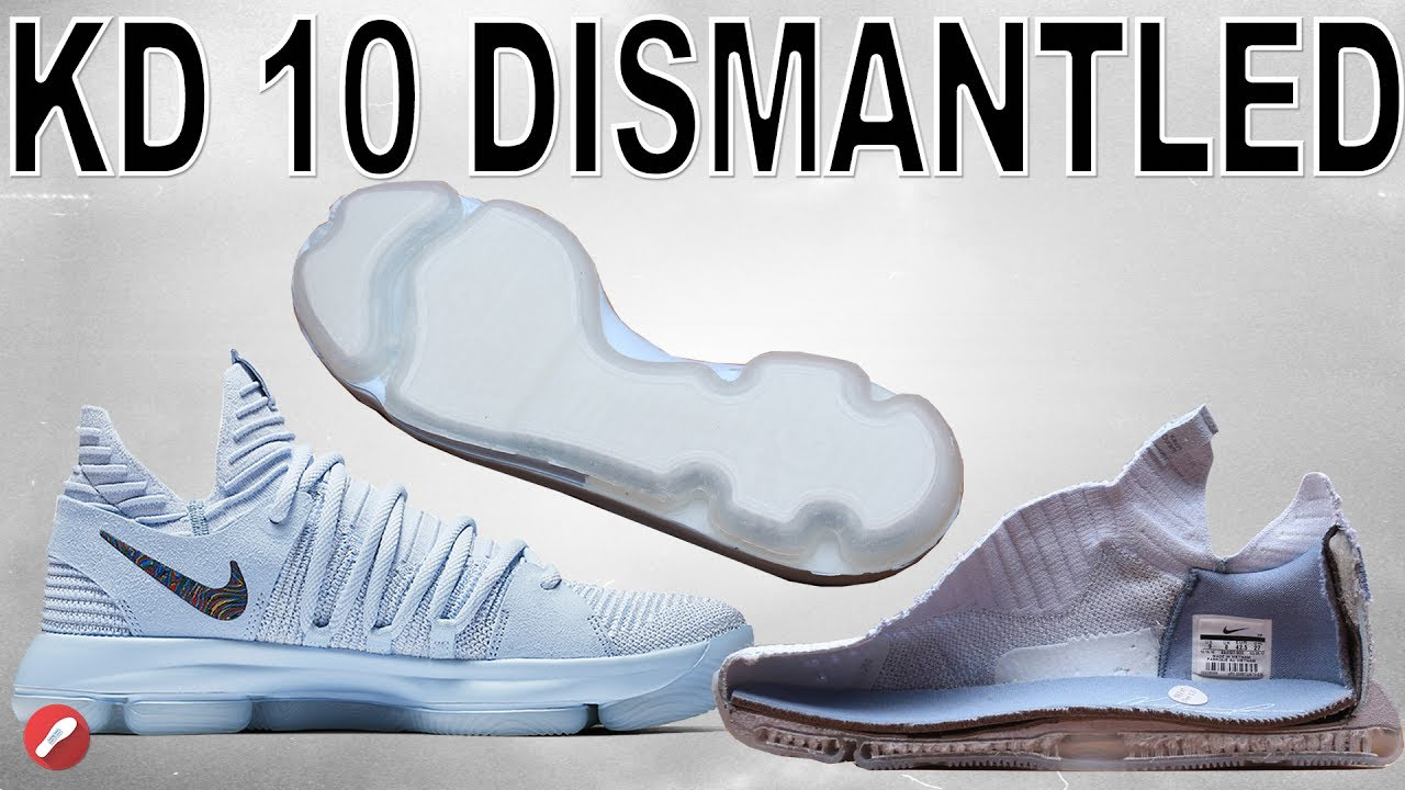 quality design d8afc 14629 Nike Kd 10 DISMANTLED! DEFECT FIXED?!