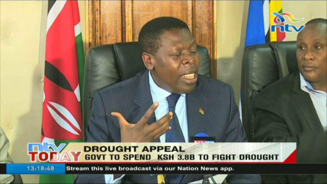 Government sets aside Ksh 3.8 billion for drought and famine mitigation