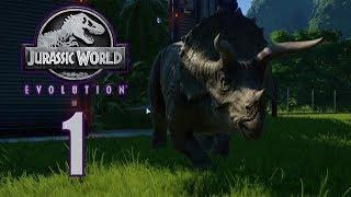 Прохождение Jurassic World Evolution #1 Свой доисторический парк !