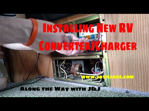 new rv converter charger installation caution loud annoying  magnetek 6332 wiring diagram #6