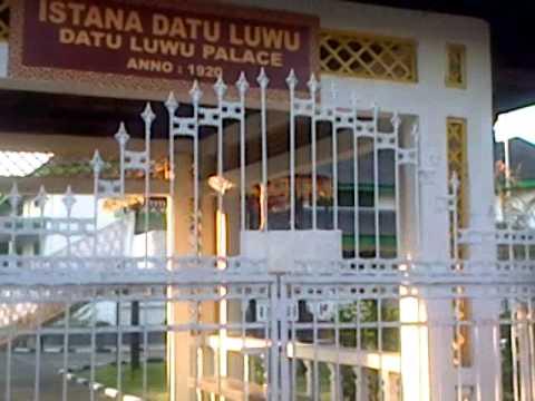 istana datu luwu Palopo