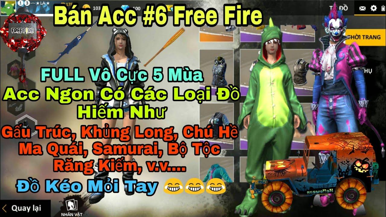 [ Garena Free Fire ] Bán Acc Free Fire LV 55 Có Nhiều Set Đồ Hiếm Như Gấu Trúc – Giá Hạt Dẻ 😎 #6