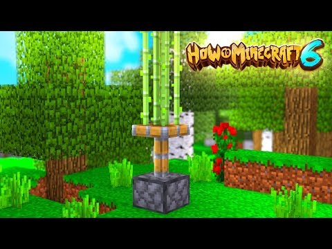 The BEST 0 Tick Sugar Cane Farm - How To Minecraft 1.14 SMP #7 | JeromeASF