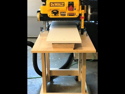 How to build a planer stand and planer table Dewalt!!