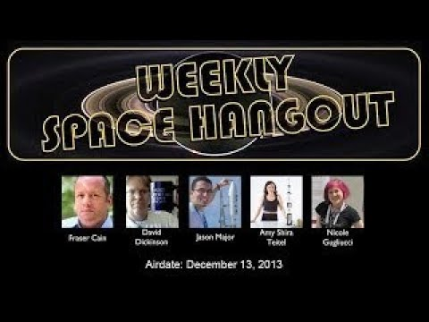 Weekly Space Hangout Europas Water Jets vesves Chinese Lunar Lander