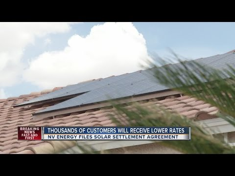 NV Energy reaches solar rate 'grandfathering' agreement