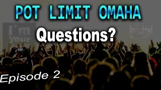 PLO Questions Episode 2| Downswings, Future of Online PLO, PLO Resources