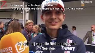 Max Verstappen répond à l'incident avec Esteban Ocon au Brésil VO sous-titrés
