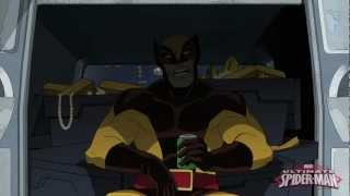 Ultimate Spider-Man: Behind-the-Scenes With Wolverine