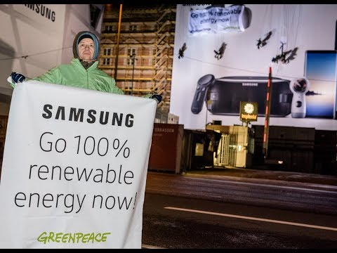 Activists call out Samsung for sponsoring this year's Winter Olympic Games