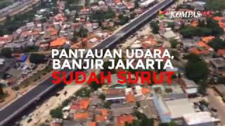 Pantauan Udara, Banjir Jakarta Sudah Surut