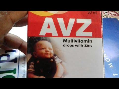 AVZ- Drops   अपने छोटे बच्चों के पिचके हुये गाल को फुलाये   किसी तरह के कमजोरी को दूर करेHindi Revie